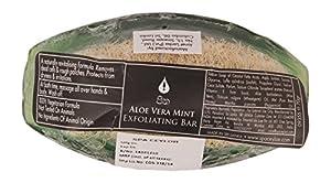 Spa Ceylon Luxury Ayurveda Aloe Vera Mint Exfoliating Bar, 70g