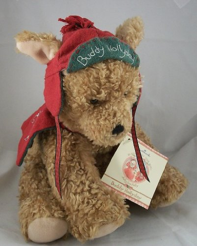 Hallmark Buddy Hollyday Plush Christmas Dog - 1