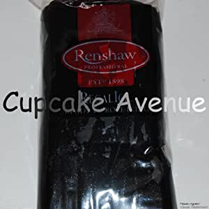 1kg Regalice Ready Roll Icing - Cake Covering Sugar Paste All colours (Black)