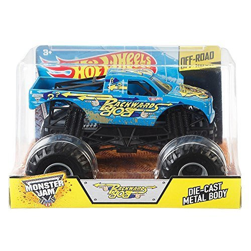 Hot Wheels Monster Jam Backwards Bob 1:24 Scale Truck by Monster Jam (Backwards Bob Monster Truck compare prices)