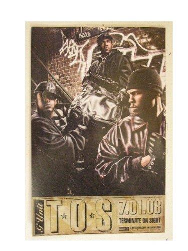 G Unit Poster G-Unit G. TOS (G Unit Tos compare prices)