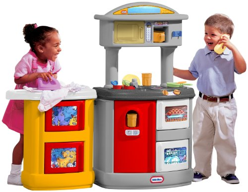 Little Tikes Double Up Kitchen  &  Laundry Centre PRIMARY