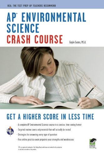 AP® Environmental Science Crash Course Book + Online (Advanced Placement (AP) Crash Course), by Gayle Evans, Advanced Placement