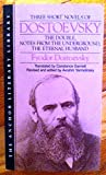 Three Novels Dostoev (0385094353) by Dostoevsky, Fyodor