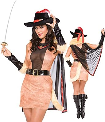 3WISHES  Puss In Boots Costume  Womens Musketeer Sexy Halloween Costumes  sc 1 st  Equipment For Travel & 3WISHES