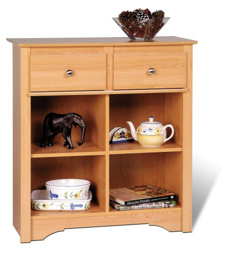Cheap Prepac Sonoma Maple Buffet / Console Table (MSB-3336)