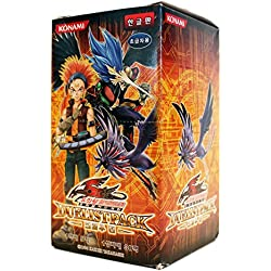 Yu-Gi-Oh! Konami Yugioh Carte 5D's Busta di espansione Scatola TCG OCG 150 Carte Duelist Pack: Crow coreano Ver