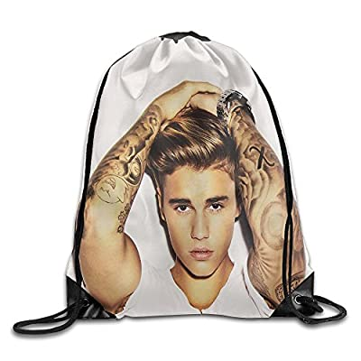 Justin Bieber 2016 New Album Backpack Student Backpack White