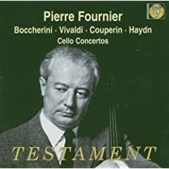 Pierre Fournier Plays
