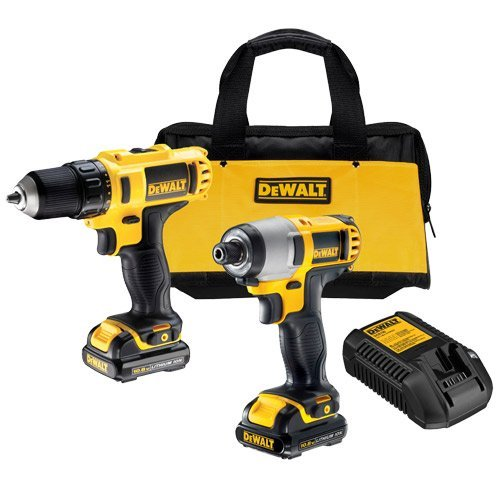 DeWALT DCK290L2 18v 2pce Power Tools Kit 2 x 3Ah Li-Ion Batteries + DT7921 Screwdriver Set