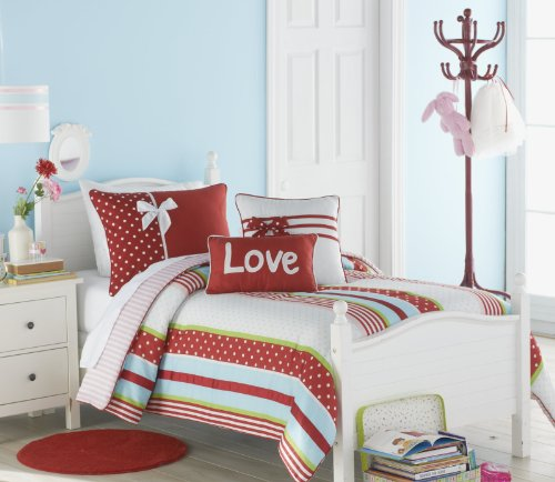 VCNY American Sweetheart Crib Set