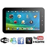 "AGPtek New Android 4.0 MID 7"" Mini Tablet Capacitive TouchScreen Wi-Fi 1.2GHz Gsensor Expandable to 32GB, Support Skype Video Calling & Netflix Movies"