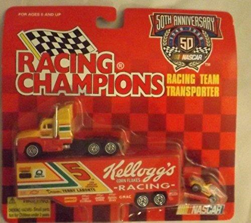 Racing Champs NASCAR Kellogg's Terry Labonte #5 Racing Team Transporter - 1