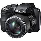 "Fujifilm FinePix S9200 - 16MP CMOS Digital Camera with 50x Zoom, Full HD Video Recording, 3"" LCD Display - Black (Certified Refurbished)"