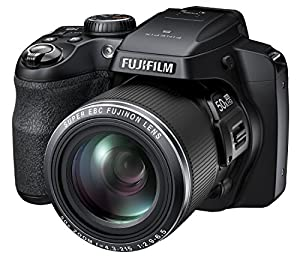 Fujifilm FinePix S9200 - 16MP CMOS Digital Camera with 50x Zoom, Full HD Video Recording, 3