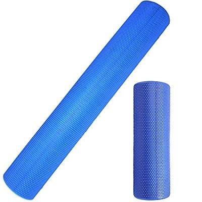 Yoga-Rolle / Pilates-Rolle / Schaumstoff-Rolle / Foam-Roller 45 cm und 90 cm x 14,5 cm Faszienrolle