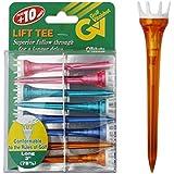 """Golf Vitalshot Lift Tees 3"""" (78mm) Mixed Colours x 8 per pack"""