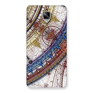 Ajay Enterprise Elant WoSonarp Multicolor Back Case Cover for OnePlus 3