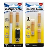 57060 Classic Electronic Cigarette Starter Kit USB 500 Puffs Nicotine FREE / Electric Cigarette Starter Kit / ecigarette / e cigarette / e Shisha kit
