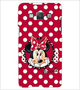 PrintDhaba Minnie Mouse D-2211 Back Case Cover for SAMSUNG GALAXY E5 (Multi-Coloured)