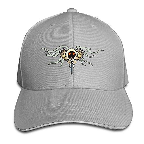 XJ-Cappello con visiera, con protezione UV, modello da Baseball Snapback, colore: naturale grigio Taglia unica