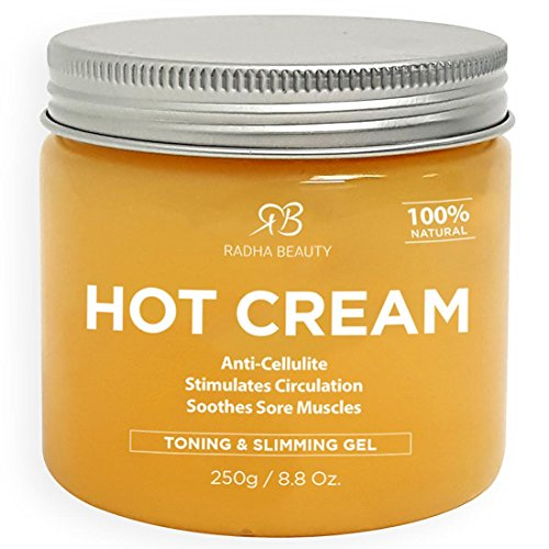 Cellulite-remover-cream-and-Deep-Muscle-Relaxation-88-oz-100-natural-Anti-Cellulite-treatment-gel-slimming-and-body-firming-with-Thermogenic-Action-also-great-as-Muscle-rub-and-Massage-cream