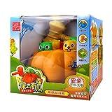 Linshop 創造教育のカボチャのもぐらたたきゲームおもちゃの子供たちのために