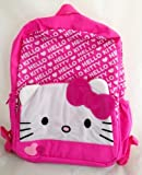 Hello Kitty 16 inch Backpack with Pink Ruffle Trim