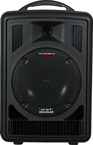 Galaxy Audio AS-TV8C Traveler Portable PA System with CD