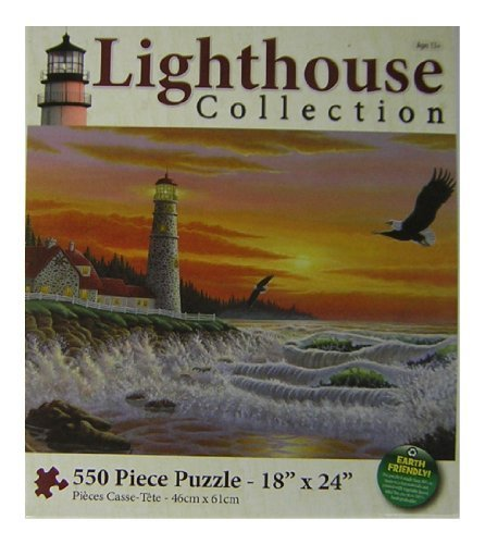 Lighthouse Collection - Guiding Light - 550 Piece Jigsaw Puzzle