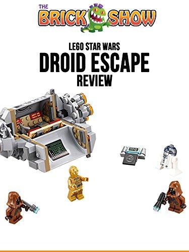 LEGO Star Wars Droid Escape Pod Review (75136)