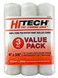 Hi-Tech RC31895 9-Inch by 3/8-Inch Roller Cover, 3-Pack