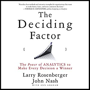 The Deciding Factor Audiobook