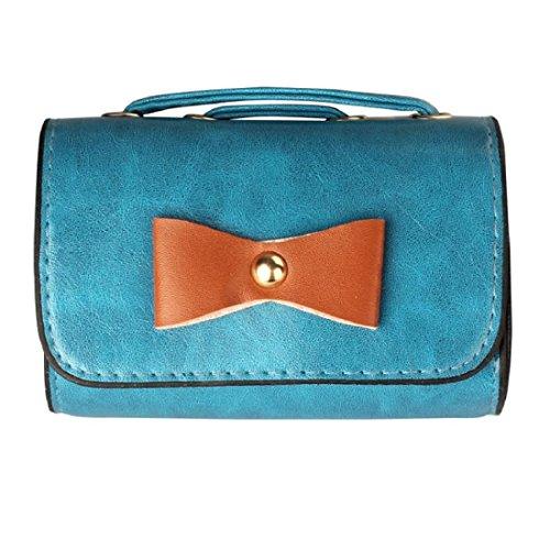 Vovotrade® Donne Crossbody sacchetti della borsa sacchetto della cassa della macchina fotografica (Blu)