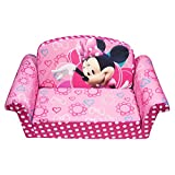 Marshmallow Children's Furniture – 2 in 1 Flip Open Sofa – Disney's Minnie Mouse Bow-Tique thumbnail