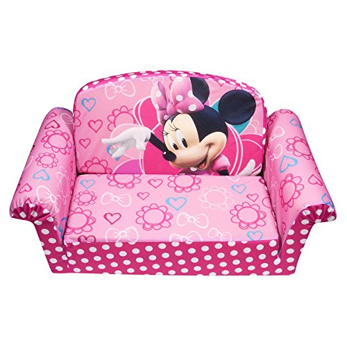 Marshmallow Furniture Minnies Bow-Tique Flip Open Sofa (Best Slip N Slide compare prices)