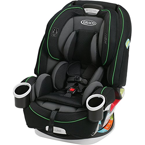 Baby Infant Car Seats Graco Convertible Car Seat That Will Last For 10 Years With 6-Position Recline, Inright Latch System,Washable Seat Cover And Exceeds US Safety Standards, BLACK