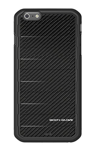 Body Glove Rise Phone Case for Apple iPhone 6 Plus/6s Plus, Black Carbon Fiber (Carbon Iphone 6 Case compare prices)