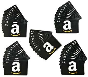 Amazon.co.uk £5 Gift Cards - 50-Pack (Generic)
