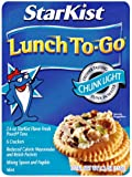 StarKist Tuna Light Lunch To Go, 4.1000-Ounce Pouches (Pack of 12)
