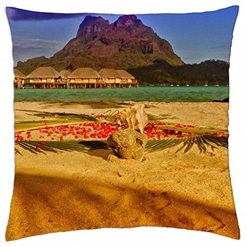 golden-sun-on-bora-boras-sands-throw-pillow-cover-case-18-x-18