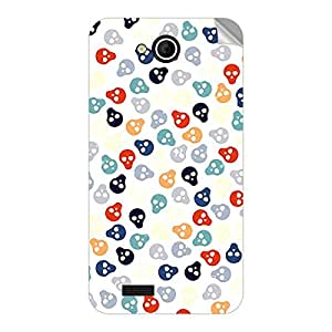 Garmor Designer Mobile Skin Sticker For Videocon A55q HD - Mobile Sticker