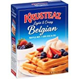 Krusteaz Belgian Waffle Mix, 28 oz, 2 pk (Tamaño: 28oz Box)