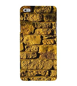EPICCASE Yellow wall Mobile Back Case Cover For Micromax Sliver 5 Q450 (Designer Case)