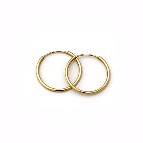 14k-Yellow-or-White-Gold-Endless-Hoop-Earrings-choose-the-diameter-up-to-1-