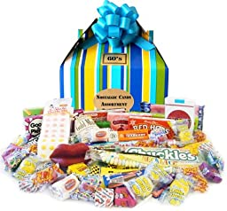 1960\'s Summer Time Retro Candy Gift Box