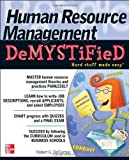 img - for Human Resource Management DeMYSTiFieD Paperback - December 9, 2010 book / textbook / text book