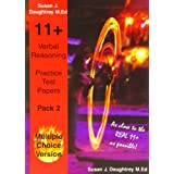 Verbal Reasoning Multiple Choice Test Papers: Pack 2by Susan J. Daughtrey