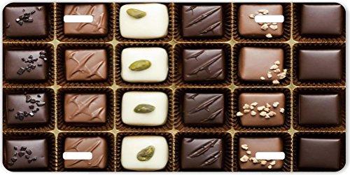 Rikki KnightTM Box of Gourmet Chocolates Design License Plate