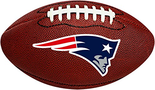 Creative Converting New England Patriots Football-Shaped Decorative Logo Cutout